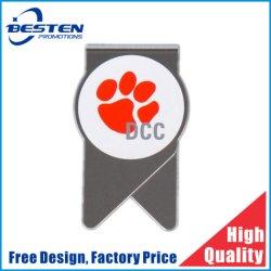Katze-Greifer-Muster-Silkscreen gedruckte Metallgeld-Klipp-Edelstahl-Papierklammer