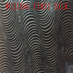 Tecido de Veludo de seda Devort Burnout, queimar Velvet