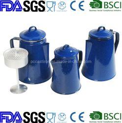 식기 10의 컵 사기그릇 사기질 커피 남비 Enamelware 식기류