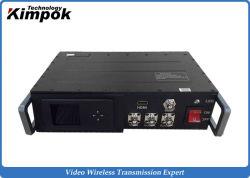 15-25W Cofdm Transmisor inalámbrico de alta potencia militar móvil de alta definición 1080p de largo alcance de transmisor de vídeo