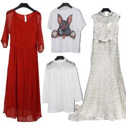 Vêtements usagés de vêtements de seconde main Lady T-shirt de la Robe en balles