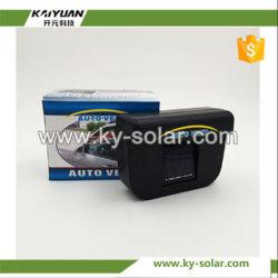 Auto refroidir l'énergie solaire de voiture de petite taille du ventilateur de nouvelle conception du ventilateur de voiture solaire