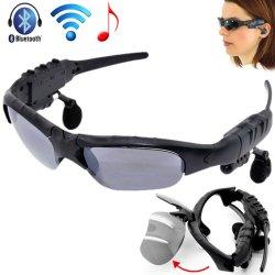 Lunettes de soleil Lunettes de soleil à puce Bluetooth Casque Stéréo Sans Fil avec Micro mains libres