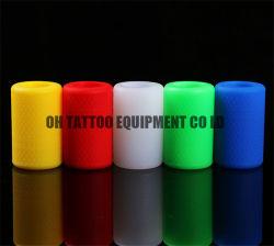 25mm de large couverture de poignée de tatouage de gel de silice
