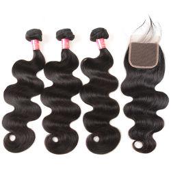 10A 1PC 100% vierge péruvien Cheveux humains tisse vague du corps