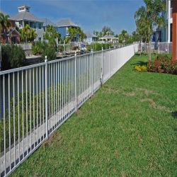 Rete fissa di recinzione di alluminio del giardino della rete fissa della polvere del comitato del metallo della guida d'acciaio rivestita della rete fissa