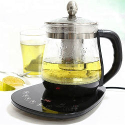 1.8L自動たくわえの暖かいガラスElectric Healthy Water やかんのティーポット
