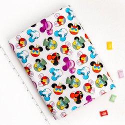 Reativeデジタルプリント100とかされた綿のあや織りの衣類ファブリック