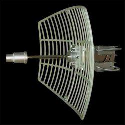 3.5GHz 25dbi Antena de Grade Fundido Parabólico