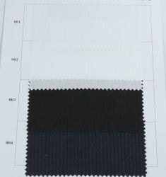 Prodotto Herringbone tinto disegno semplicemente intessuto di riserva del tessuto di cotone del poliestere per il tessuto dell'indumento