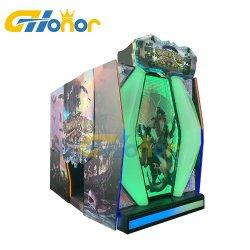 55 pulgadas LCD de 2 jugadores Simulator consola de video juego de monedas de juego de disparo de pistola láser shooter arcade Juego de Arcade Juegos de Interior de la máquina