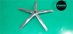 يصقل ألومنيوم ساق يترأّس قمار ثابتة حقيرة خمسة نجم مكتب كرسي تثبيت قدم طاولة قاعدة