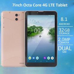 7인치 Mtk6753 옥타 코어 태블릿 어린이 4G LTE WiFi GPS 연구용 Android 태블릿