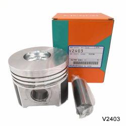 pièces de rechange pour moteur diesel Kubota V2403 le piston