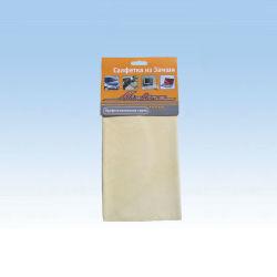 Camoscio di cuoio puro automatico del panno di pulizia (CN3256)