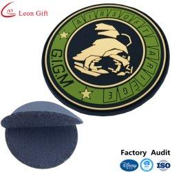 Логотип на заводе мягкие резиновые ПВХ Бэйдж с липучкой