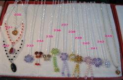 Приятный Crystal валик клея ожерелья украшения аксессуары (JDNE-218)