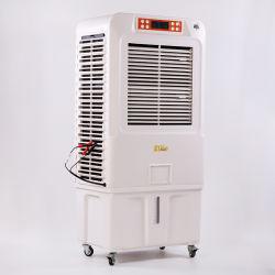 Piscina de Tamanho Grande 70L de água solares do tanque AC/DC 3 em 1 Refrigerador de Ar Home Use ar do ventilador de refrigeração