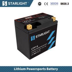 LFP7-S 12V Lithium-Motorrad-Batterie Batterie/LiFePO4/Powersports Batterie