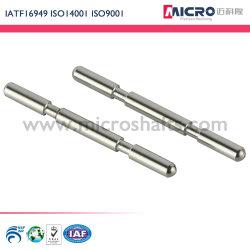 IATF 인증 OEM CNC 기계 가공 선삭 열 처리 스테인리스 스틸 마이크로 모터 자동 의료용 전동 공구와 정밀 샤프트