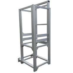 Aluminiumjobstep-Strichleiter-Aluminiumprofil für das Verkaufs-Aluminium teleskopisch
