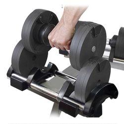 Muestra Kettlebell Crossfit Fitness hexagonal de la fábrica de artículos deportivos ajustables pesa pesas Libra Rack pesa gimnasio en casa conjunto pesa PRO