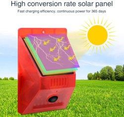Sensor de luz solar de la Alarma con mando a distancia, 129dB sirena de Seguridad de sonido para el hogar de la luz, la granja, granero, Villa, Patio