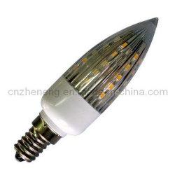 Светодиодная свеча фонаря рабочего освещения E14 (1.5W ZYSC30-30SMD3528)