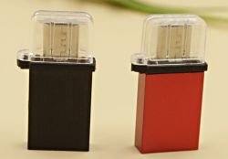 Mini USB OTG Andorid con adaptador para teléfono inteligente Android/Tablas (OM-P409)