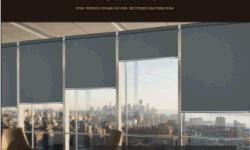 Rollen-Vorhang-Lichtschutz-Rollen-Vorhänge für Fenster-Behandlung-Fenster-blinde Sprung-Rollen-Farbtöne