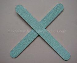 釘の心配のための爪やすりかエメリー板まっすぐなF-Z001 (シマウマ)