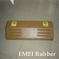 Parkeergelegenheid Rubber Block, Rubber Hek