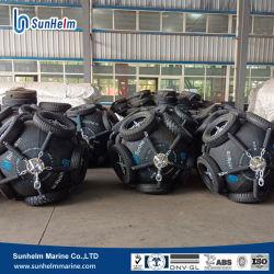Tamaño pequeño bote neumático de Yokohama guardabarros para barco y buque