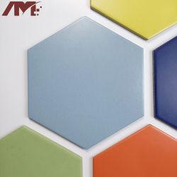 Ladrilho hexagonal em mármore Foshan Custom porcelana