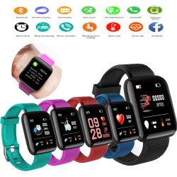 Los hombres Reloj inteligente electrónica inteligente de medición de presión arterial ver Monitor de Ritmo Cardíaco resistente al agua IP67 Smartwatch Mujer