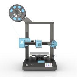Venda por grosso de bricolage semi-Nivelamento Auto-Bed Impressão precisa Fmd Desktop Fff/Fmd Silent 3D máquina impressora 220*220*250mm de tamanho de impressão