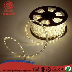 IP65 de la luz de la cuerda de LED blanco cálido para la decoración de Navidad