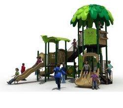 Speelgoed van de Speelplaats van het Huis van de Boom van de Dia van de Kinderen van het Stuk speelgoed van jonge geitjes het Openlucht Plastic