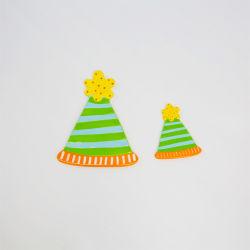 Impresión por sublimación de la transferencia de calor de cerámica en blanco nevera imán Árbol de Navidad