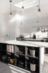 Color de la carcasa de madera hechas por el aluminio utilizado para la Cocina Cuarto de baño