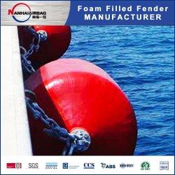 Amarre de anclaje cilíndrico Marino de pesca barco flotante Guardabarros/boyas de amarre/relleno de espuma Fenderfor yates