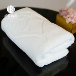 Взрослых белых полотенца в ванной, роскошный 5-звездочный отель Custom 100% хлопка белого цвета из тончайшего Dobby стороны полотенца