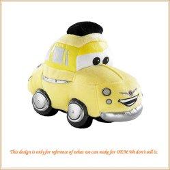 Divertente Little Cartoon Car con giocattolo in plush personalizzato
