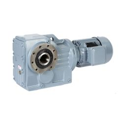 螺旋形ギヤ減力剤Kシリーズ90度の変速機良質伝達フランジによって取付けられる駆動機構の自動車産業の製造業者の速度の斜角螺旋形ギヤ減力剤