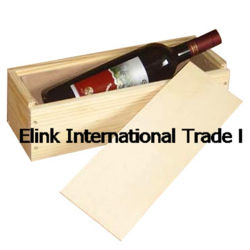 Stab-kundenspezifischer beweglicher antiker hölzerner Wein-Kasten-Flaschen-Ablagekasten für einen