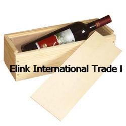 Portable su ordinazione Antique Wooden Wine Caso per Un Bottle
