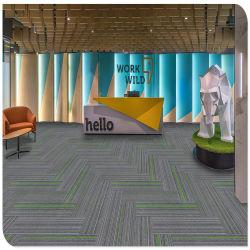 50*50 cm moderne commerciële Carpet machine Tufted Carpet Tile kleurrijk Lijn modulair tapijt voor hal