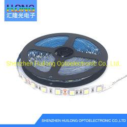 표시 단계 훈장과 다른 LED 점화 프로젝트 광고를 위한 Ce&Rosh 14.4W DC12V 1200mA 60LEDs/Meter 5m/Roll LED 연약한 LED 지구 또는 표시등 막대