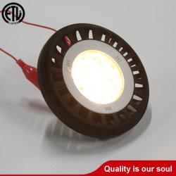 Ampoule de rechange pour éclairage paysager LED basse tension PAR36 13 watts, écartement de 30 degrés, 2700 K, réglable, 1100 lumens