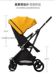 عربة أطفال قابلة للطي محمولة تتسم بالوزن الخفيف ووزن 360 درجة من الألومنيوم الفريد [بكرم] 3 في - 1